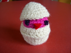 crocheted chick.JPG