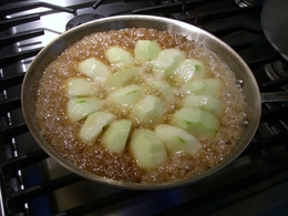 tarte tatin cooking.JPG