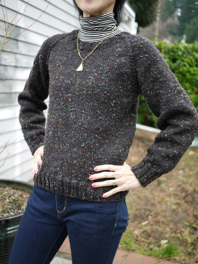Raglanify sweater